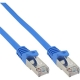 Patchkabel, SF/UTP, Cat.5e, blau, 0,25m (72522B)
